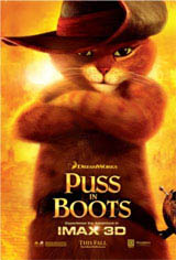 Puss in Boots: An IMAX 3D Experience Movie Poster