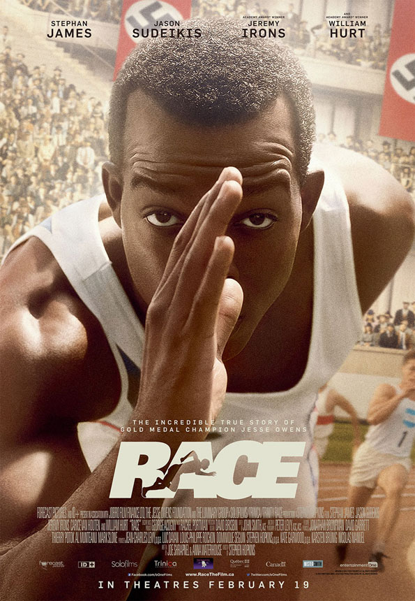 Race Large Poster