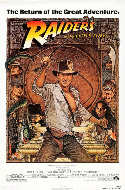 Raiders of the Lost Ark Large Poster