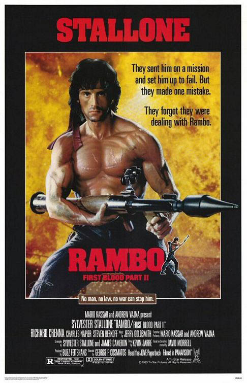 Rambo: First Blood Part II Large Poster