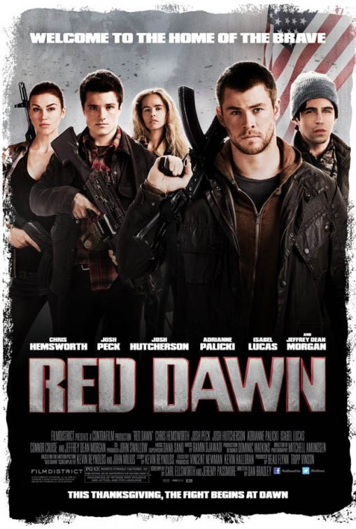 Red Dawn official Movie Poster