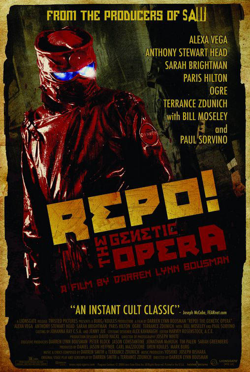 Repo! The Genetic Opera Large Poster
