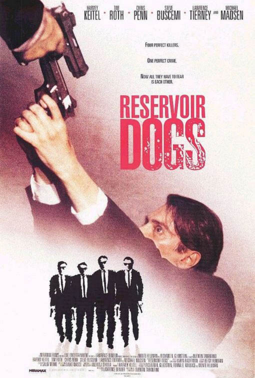 Reservoir Dogs Large Poster