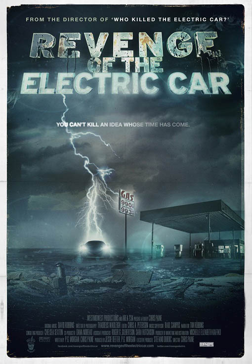 Revenge of the Electric Car Large Poster