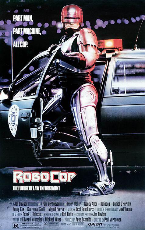 Robocop (1987) Large Poster