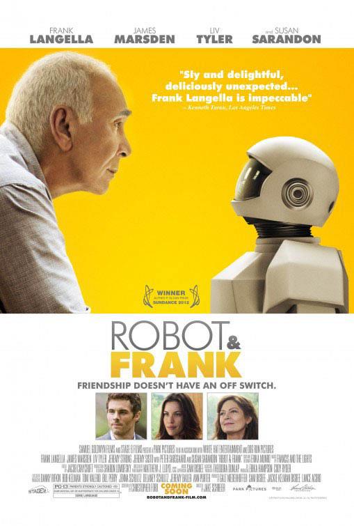 Robot & Frank Large Poster