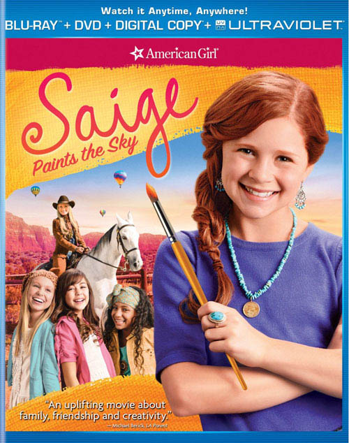 An American Girl: Saige Paints the Sky Large Poster
