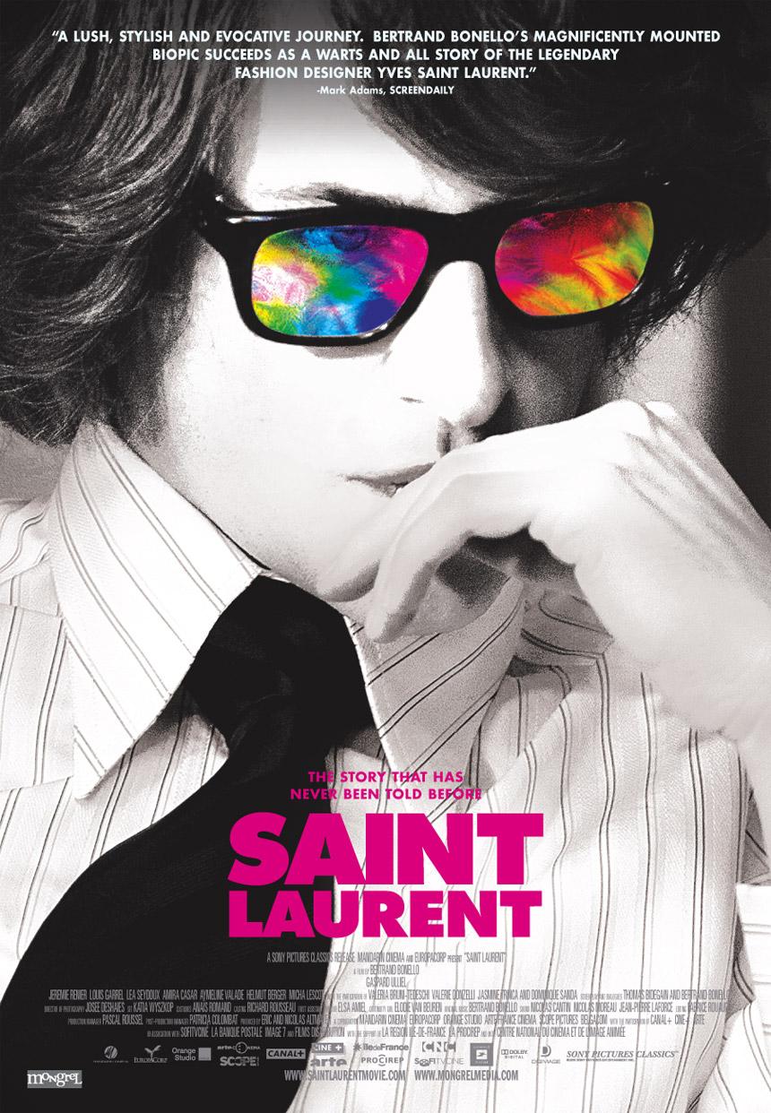 Saint Laurent Large Poster