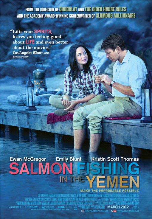 Salmon Fishing in the Yemen Large Poster