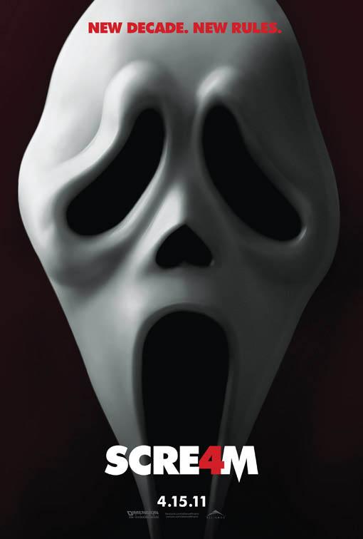 Scream 4 Large Poster