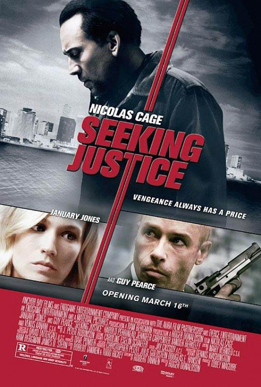 Seeking Justice Large Poster