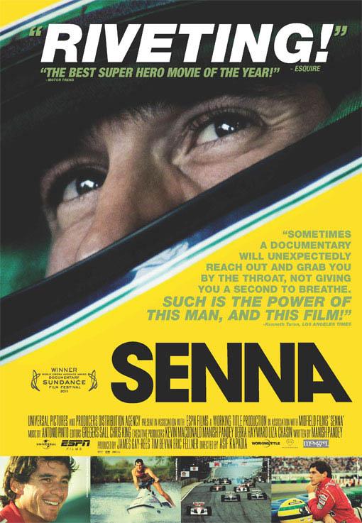 Senna Large Poster