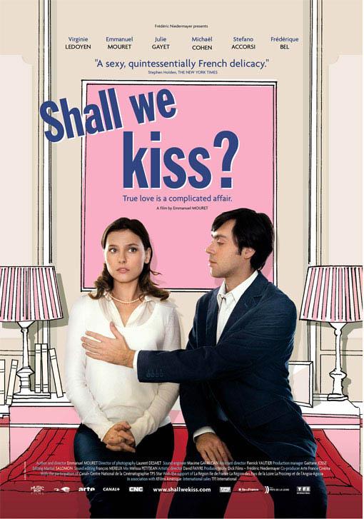 Shall We Kiss? Large Poster