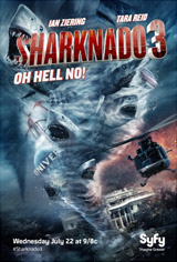 Sharknado 3: Oh Hell No! Movie Poster