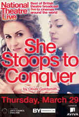 National Theatre Live: She Stoops to Conquer Movie Poster
