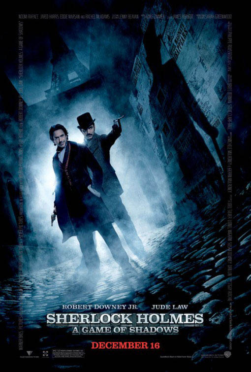 Sherlock Holmes: A Game of Shadows Large Poster