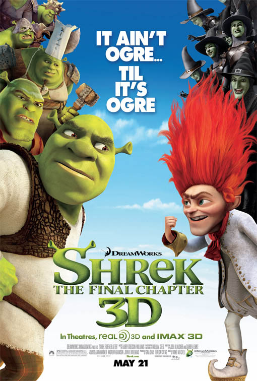 Shrek Forever After Large Poster