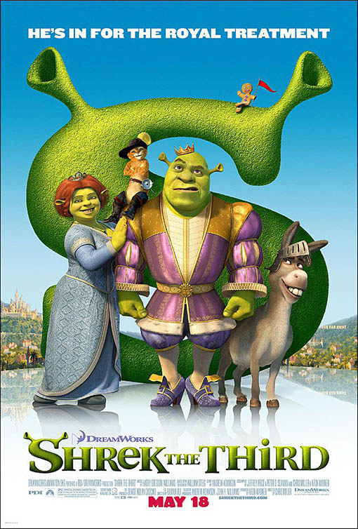 Shrek the Third Large Poster