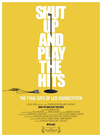 Shut Up and Play the Hits Large Poster
