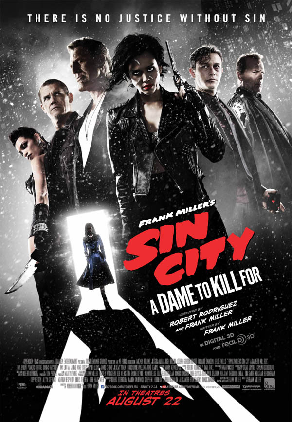 Frank Miller's Sin City: A Dame to Kill For Large Poster
