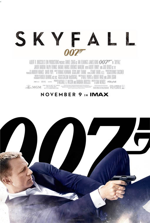 Skyfall official Movie Poster