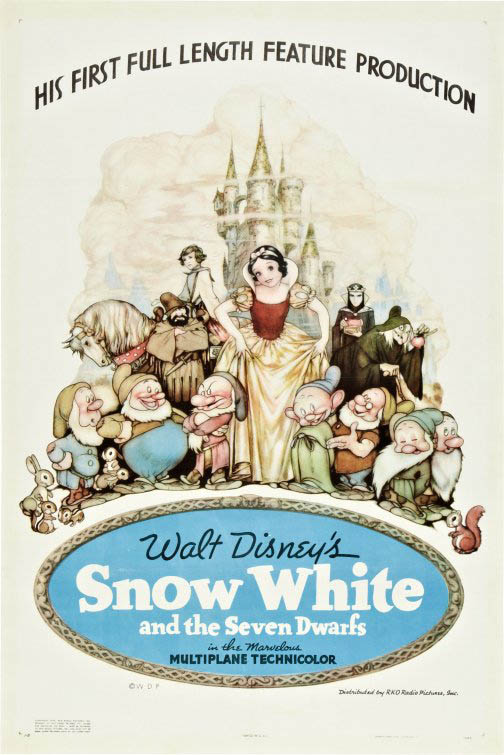 Snow White and the Seven Dwarfs Large Poster
