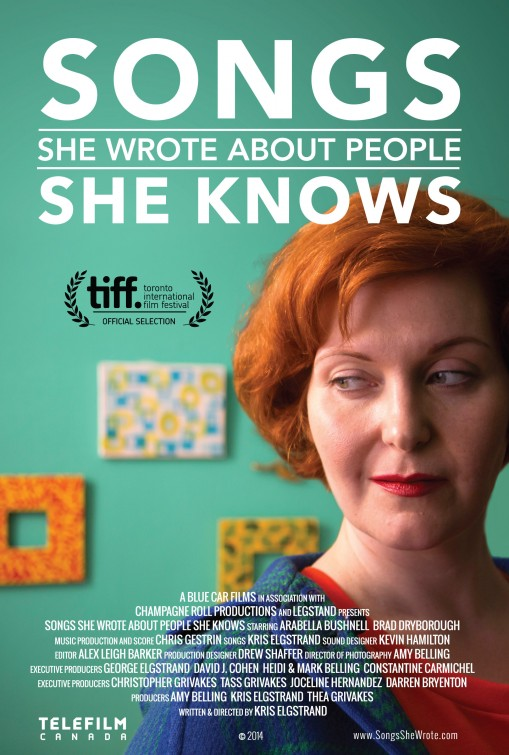 Songs She Wrote About People She Knows Large Poster