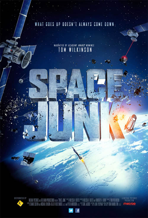Space Junk Large Poster