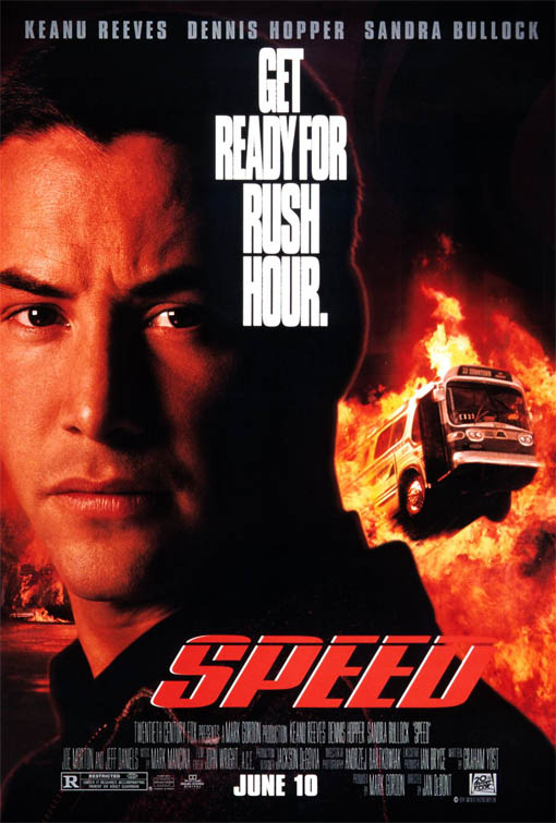 Speed Large Poster