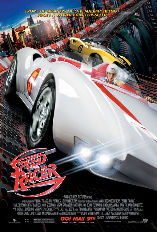 New <em>Speed Racer</em> trailers zoom onto the web