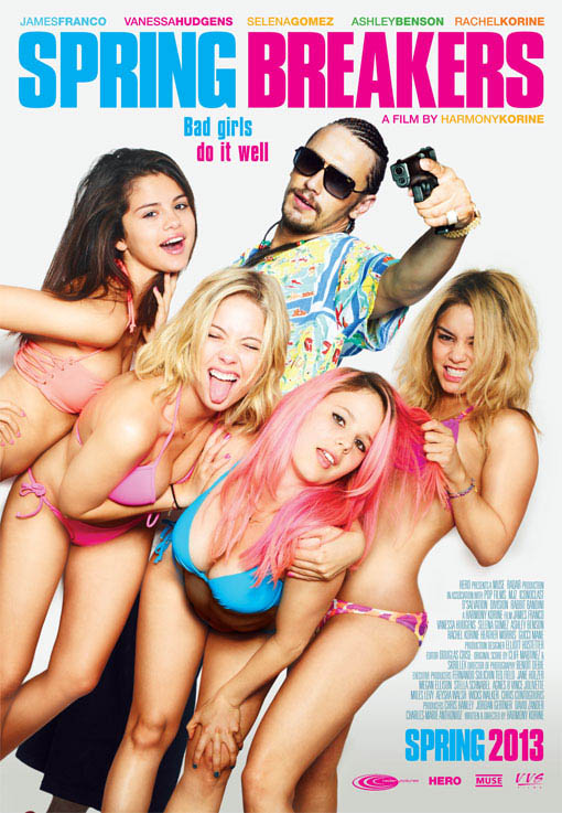 Spring Breakers Large Poster