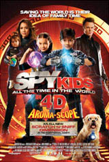 Spy Kids: All the Time in the World 3D Movie Poster