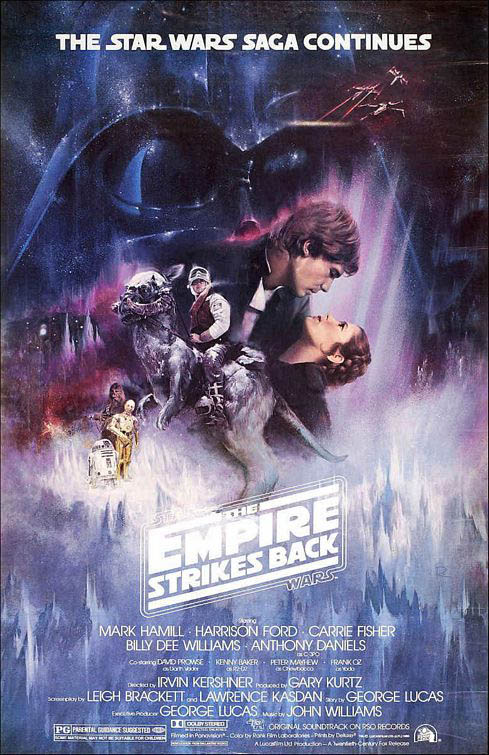 Star Wars: Episode V - The Empire Strikes Back Large Poster