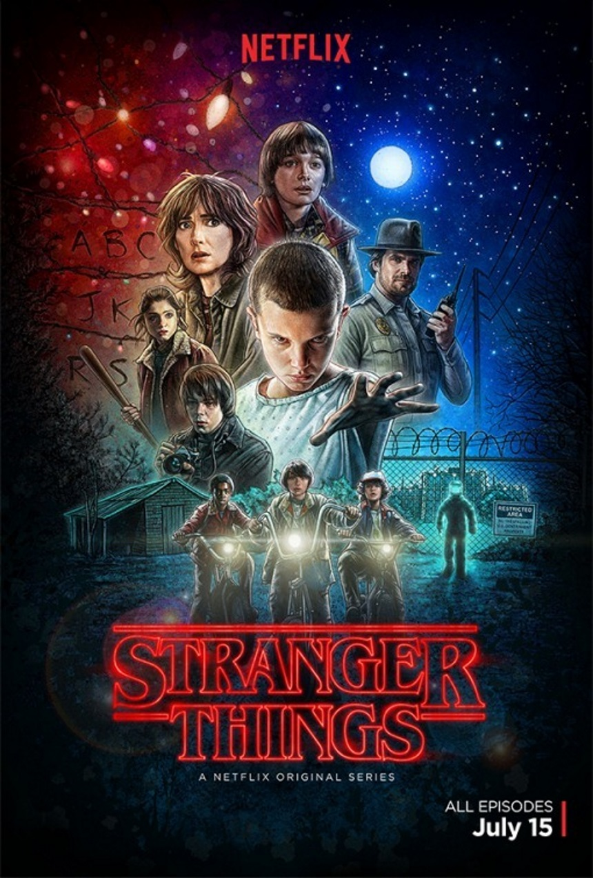 Stranger Things (Netflix) Large Poster