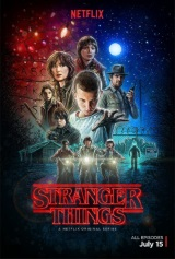 Stranger Things (Netflix) Movie Poster