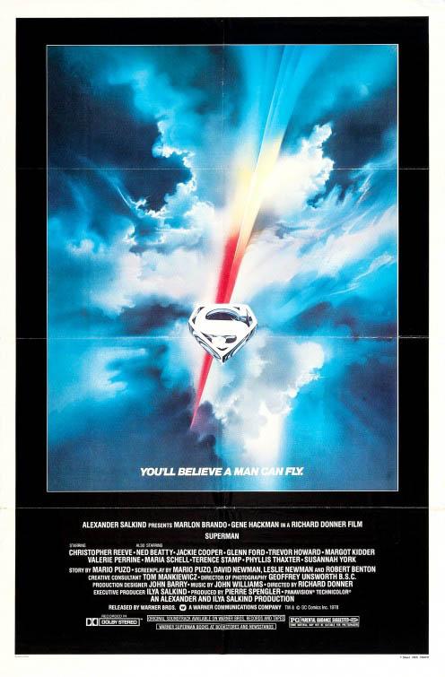 Superman Large Poster