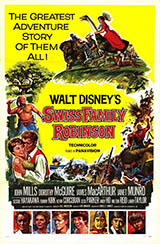 Swiss Family Robinson Movie Poster