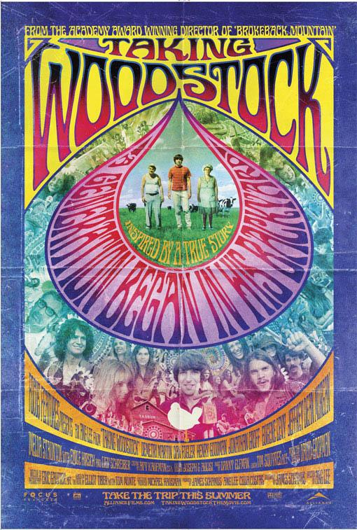 Taking Woodstock Large Poster