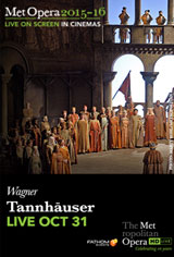 The Metropolitan Opera: Tannhauser Movie Poster
