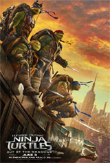 Teenage Mutant Ninja Turtles: Out of the Shadows Movie Poster