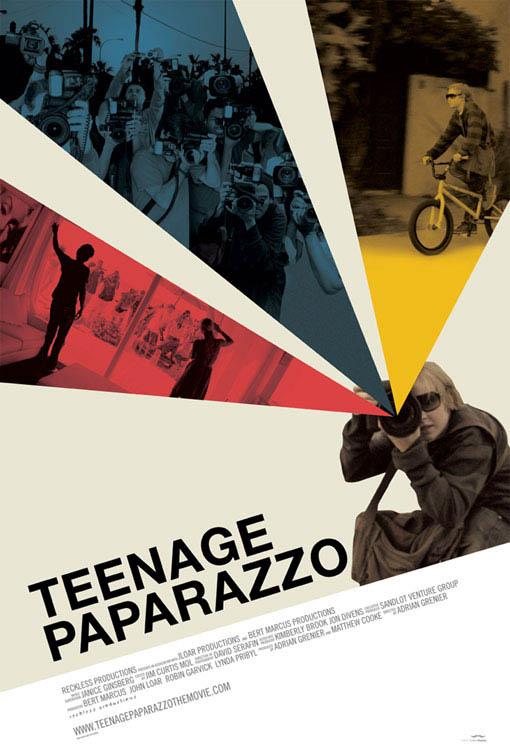 Teenage Paparazzo Large Poster