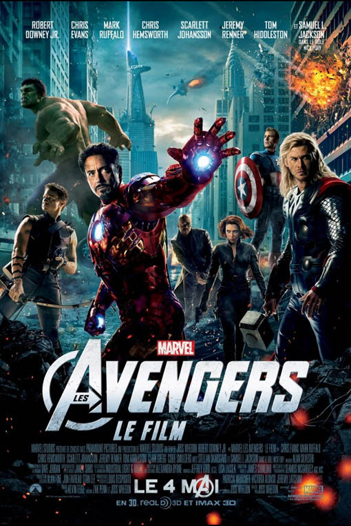 Les Avengers : Le film official Movie Poster
