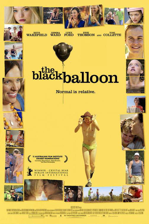 The Black Balloon Large Poster