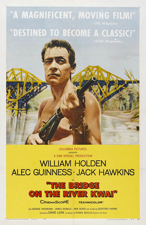 The Bridge On The River Kwai Large Poster