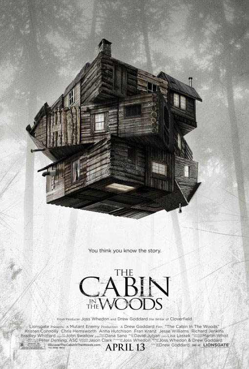 The Cabin in the Woods official Movie Poster