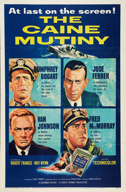 The Caine Mutiny (1954) Large Poster