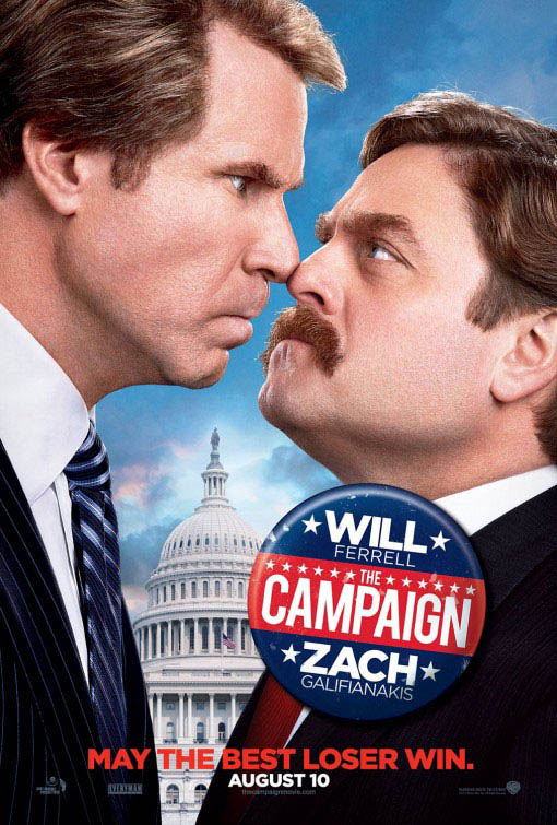 The Campaign official Movie Poster