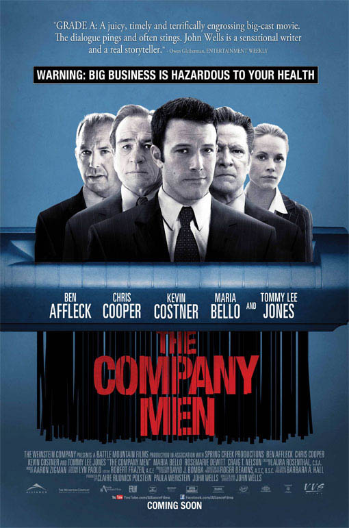 The Company Men Large Poster