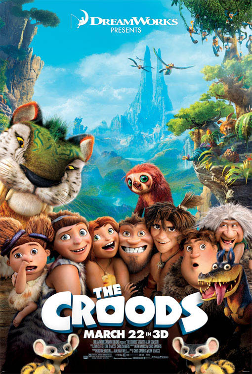 The Croods  Large Poster