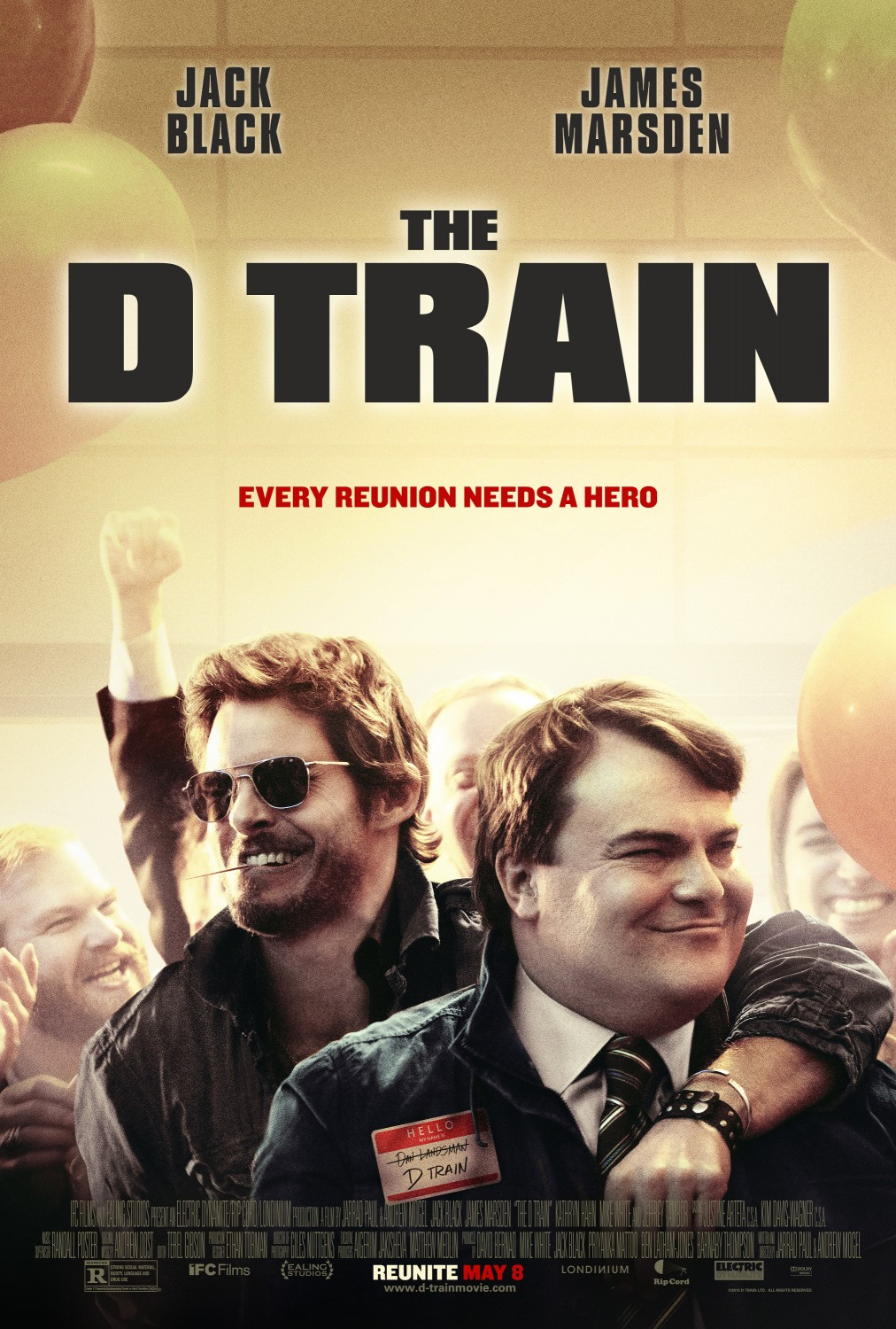 The D Train Large Poster